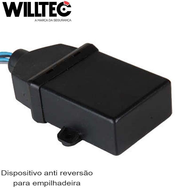 Dispositivo anti reversão para empilhadeira