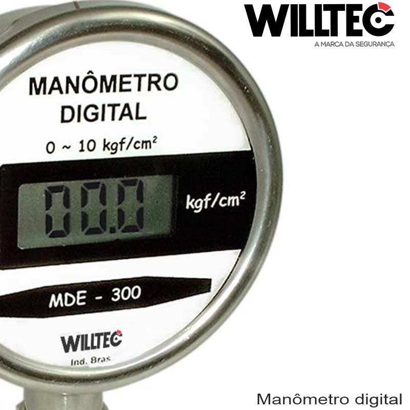 Manômetro digital industrial
