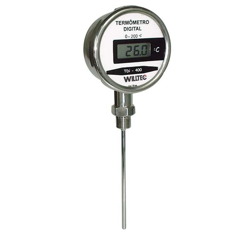 Termômetro digital inox