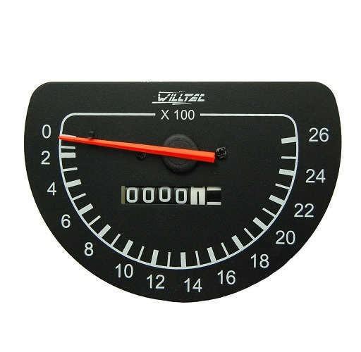 Tratômetro com horímetro