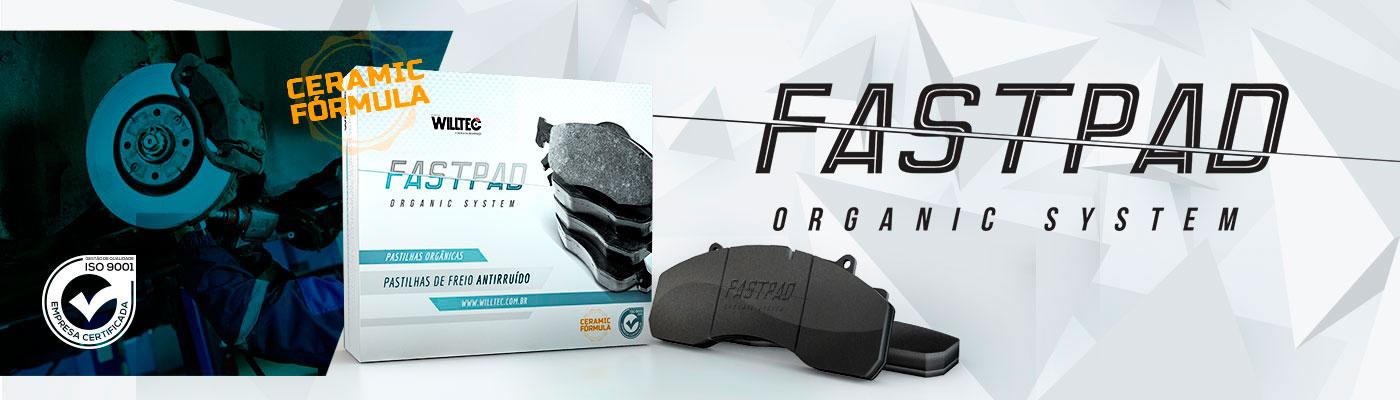 Pastinhas De Freio FastPad