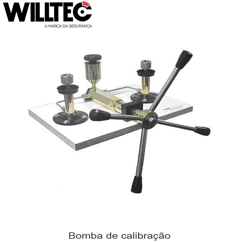 Bomba de calibração por comparação