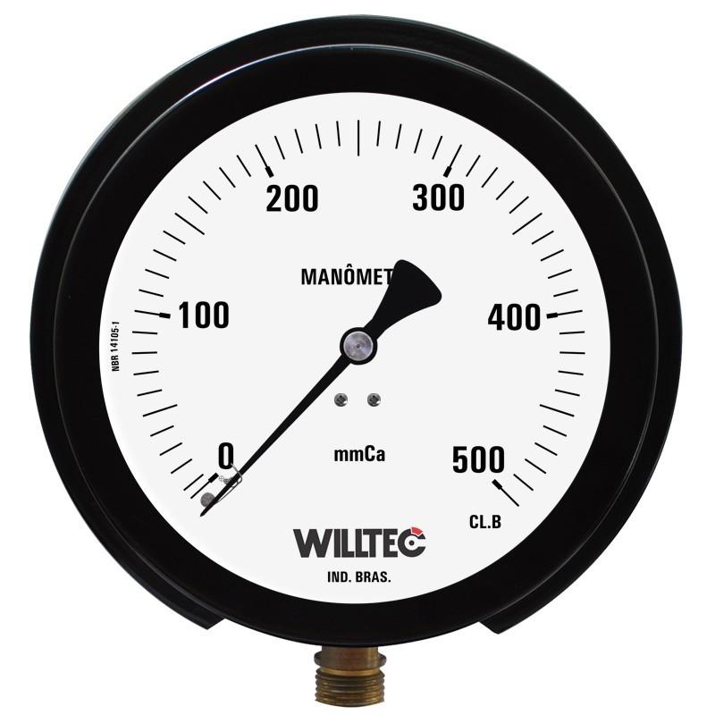 Manômetro capsular para baixa pressão