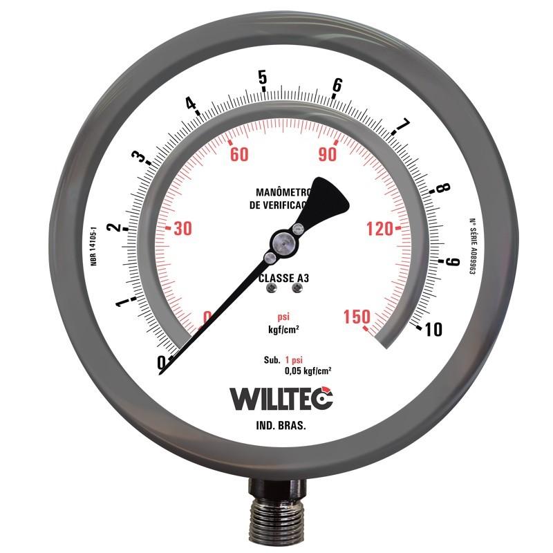 Manômetro padrão para calibração