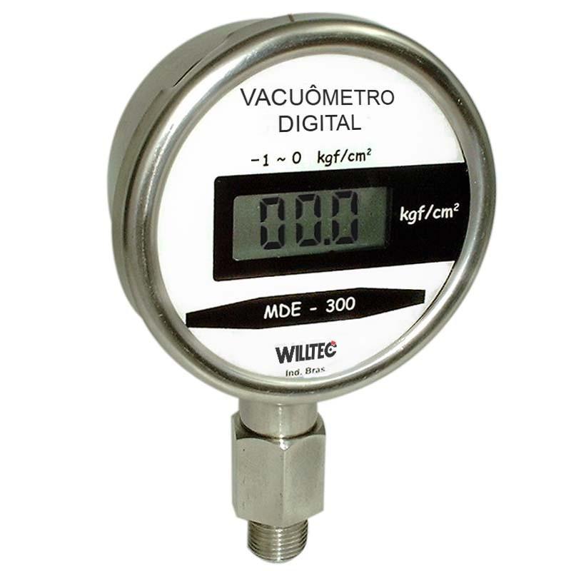 Manômetro vacuômetro digital