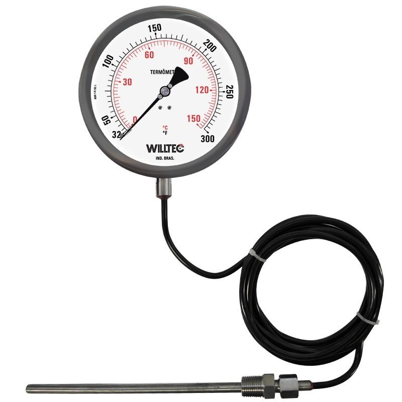Termômetro expansão a gás