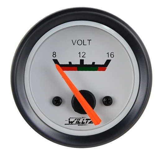 Voltímetro para caminhão
