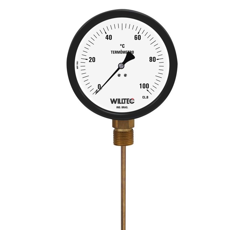 Termometro Bimetalico Industrial Willtec Nuovo termometro digitale bianco nero termometro del congelatore del frigorifero misuratore di temperatura dell'acqua domestica rilevatore di prodotti per la casa. termometro bimetalico industrial willtec